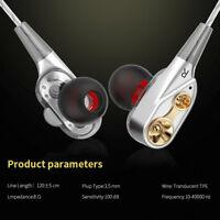 7D 3.5mm HIFI Headphone Super Bass Headset Wired In-Ear Earphone Stereo Earbuds