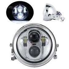 5.75'' LED Projector Headlight Bulb For Honda VTX 1300 1800 Valkyrie Rune 1500