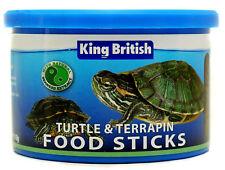King British Turtle & Terrapin Food Sticks 110g 3 Pack Deal