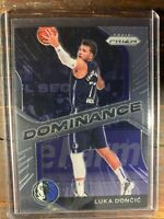 Luka Doncic Basketball Card #18 Panini Prizm Dallas Mavericks NBA Insert SP MINT