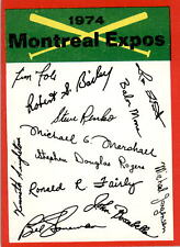1974 Topps Team Checklists Montreal Expos EX-MT #D371734
