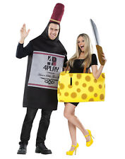 Perfectly Paired Wine And Cheese Couples Costume