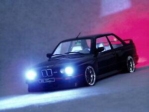 BMW M3 E30 2.3 215PS 230Nm 1:18 Tuning Xenon GT R M4 M5 M6 X6 X5 Modell RS
