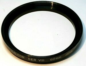 62mm to 8 series VIII Filter Holders Adapter ring threads step up 67mm