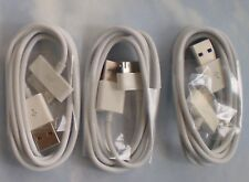 Three 30 pin USB Charging Data/Sync Cable Cord for iphone 4S 4G 3GS iPad2