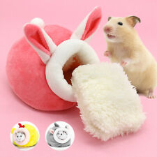 Warm Fleece Pet Nest Bedding for Small Animals Hamster Rat Sleeping Cave House
