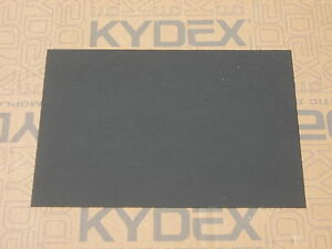3 mm A4 KYDEX T SHEET 297 X 210 (P-1 Haircell BLACK ) Gun Holsters, Knife Sheaf