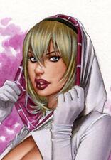 Alex Miranda - Hot Spider Gween DW#576 - Fantasy Pinup Girl Print