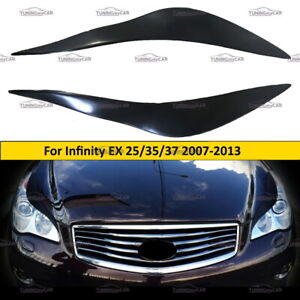 Eyebrows Eyelid Cover for lights for INFINITI EX25, EX35, EX37 2007-2013