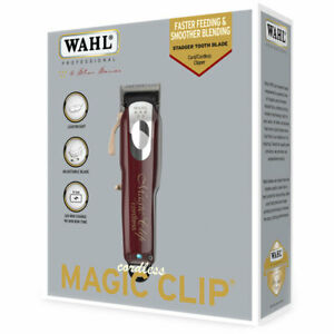 Wahl Professional 5 Star Series Magic Clip Cordless Clipper UK Plug Brand New