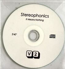 STEREOPHONICS : IT MEANS NOTHING - [ CD SINGLE ]