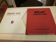 COLLEZIONE FILATELICA GEOPROGRAM  MILAN CAMPIONE D'ITALIA 1987-88