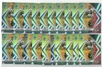 x20 AARON RODGERS 2020 Phoenix Fire Burst Prizm #19 lot/set Green Bay Packers QB
