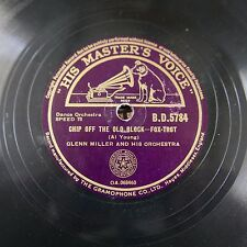 78rpm GLENN MILLER chip off the old block / lets have another cup of coffee