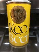 Tan/Gold/Black Keo Beer � Can P/T Bottom Open 12oz 🇨🇾 Cyprus
