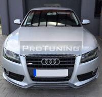 RS Splitter for SE Audi A5 Front Bumper spoiler lip Valance apron Skirt Lip Chin