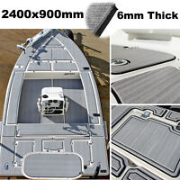 240x90cm 6mm Grey Marine Boat Yacht Flooring Decking EVA Foam Teak Carpet Sheet