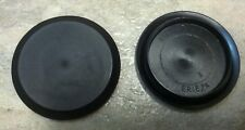 "1 3/4"" 1.75Inch Flush Mount Black Plastic Body and Sheet Metal Hole Plug  QTY 1"
