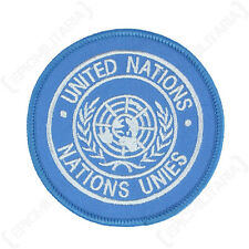 UNITED NATIONS SHOULDER PATCH - Repro Embroided Badge Peacekeeping Forces