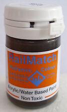 RailMatch 2402 - Frame Dirt Matt - General Colour - Acrylic Paint - 18ml Pot