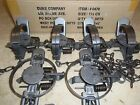 6 New Duke # 1 1/2 Coil Spring Traps 0470 Raccoon Fox Nutria Trapping Muskrat