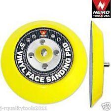 """(2) 5"""" Vinyl Face Sanding Pads (PSA) Non-Dust Collector For PSA Paper"""