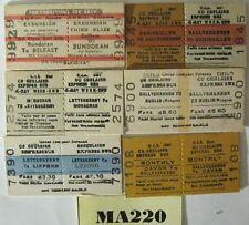 Córas Iompair Éireann (Irish) Bus Tickets x 6 Ref MA220