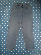 Used LEE Blue Jeans wmns 10 Classic Rise TAPERED LEG 28x31 Feathered Naturally
