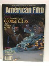 American Film Magazine :  June 1983  -  George Lucas Star Wars Cover (FN/VF)