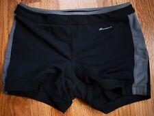 New listing NAUTILUS Padded Cycling Spin Triathlon Tri Shorts Womens Large L Yoga Fitness