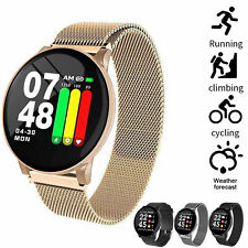 Smart Watch Full HD Touch Screen Bluetooth Fitness Tracker Blood Pressure IP67