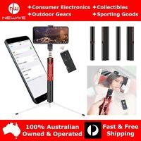 NEWAVE Extendable Aluminium Alloy Selfie Stick Tripod Magnetic Bluetooth Shutter