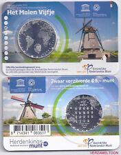 """NEDERLAND 5 EURO  2014: """"HET MOLEN VIJFJE"""" IN COINCARD"""