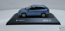 Coche modelo SEAT Ibiza ST 1:43 alba azul sd60090002