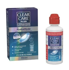 Clear Care Plus - HydraGlyde 3oz (90 mL) - New - Free Shipping 🚚 📦 🛫