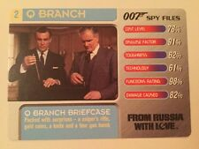 From Russia With Love Briefcase #2 Q Branch - 007 James Bond Spy Files Card