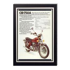 1976 Honda CB 750A Motorcycle Advertisement Reproduction Glossy Poster