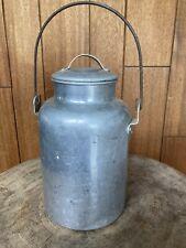 Vintage Aluminum Milk Container? Dairy Farming Farm