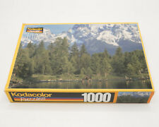 Vintage Kodacolor Puzzles 1000 Piece Beaver Pond Wyoming New Sealed