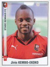 414 JIRES KEMBO-EKOKO CONGO STADE RENNAIS.FC STICKER FOOT 2011 PANINI