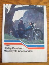 1976 Harley-Davidson Motorcycle Accessory Accessories Brochure, Original