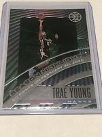 TRAE YOUNG EMERALD - 2019-20 Panini Illusions Season Highlights Emerald #11