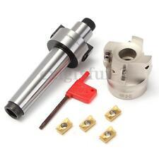 400R MT3 FMB22 M12 Shank 50mm FRESA Face End mill CNC Cutter 4X APMT1604 INSERTI