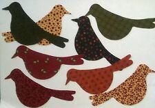 Kansas Troubles Bird Silhouette fabric Pack remnants patchwork bundle 100%cotton