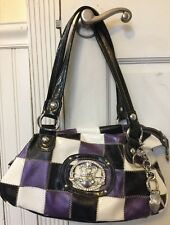 Kathy Vanzeeland Purple Violet White Handbag Charms Keychains Lors Of Hardware