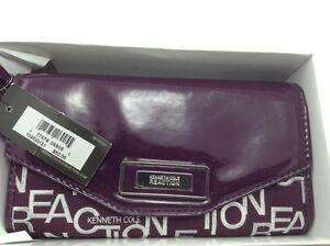 Women's Kenneth Cole Reaction Purple Moonlight Wallet - $52 MSRP