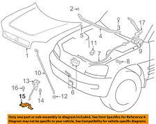 TOYOTA OEM 96-00 RAV4 Hood-Release Lever Handle 5354042010