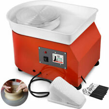 VEVOR 350W 25cm Electric Pottery Wheel with Foot Pedal and Detachable Basin