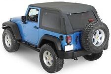 Smittybilt Bowless Combo Top - Black Diamond fits 07-17 Jeep Wrangler JK 2 Door