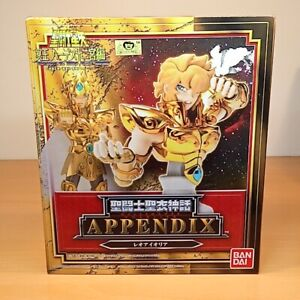 NEW Leo Aiolia appendix Gold Saint Seiya Myth cloth Bandai Figure【From JAPAN】